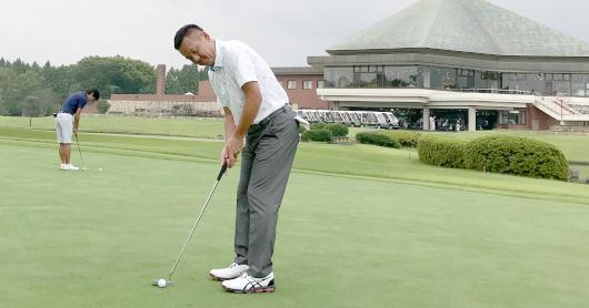 トーナメント優勝プロゴルファーとエンジョイゴルフ