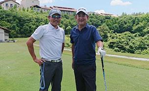 プロと交遊しながら学べるゴルフ